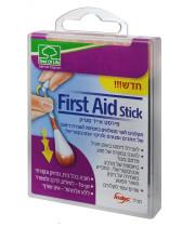 פירסט אייד סטיק מקלונים לעצירת דימום ולחיטוי FIRST AID STICK