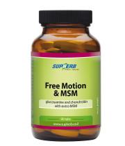 פרי מושן בתוספת MSM גלוקוזאמין וכונדרואיטין 210 טבליות Free Motion + Msm סופהרב