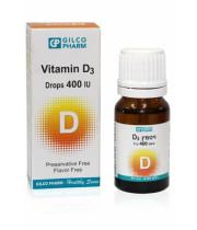 ויטמין D3-400 בטיפות גילקו פארם