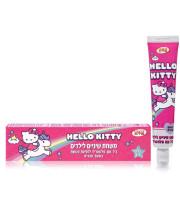 הלו קיטי משחת שיניים לילדים עם פלואוריד בטעם ענבים גילאין 2-6