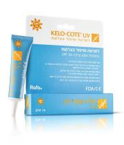 קלו-קוט UV ג'ל רפואי לטיפול ומניעה של צלקות באיזורים החשופים לשמש