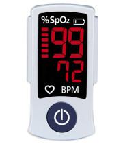 רוזמקס מד דופק וסטורציה (רמת חמצן בדם) Rossmax Pulse Oximeter Sb100