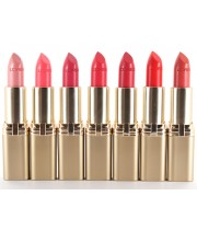 שפתון קולור ריש במגוון צבעים | L'Oreal Color Riche Lipstick לוריאל