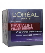 קרם לחות ללילה רויטליפט פילר L'OREAL Revitalift Filler