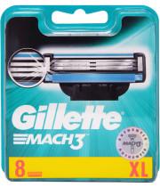 מאך 3 8 סכיני גילוח ג'ילט Mach3 Shavings Blades Gillette