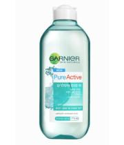 מי פנים מיסלרים Garnier Pure Active לעור מעורב-שמן