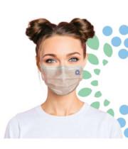 מסכה מבד נושם לעור הפנים 25 יחידות Q99 Dynamic Active Mask