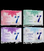 נקה 7 אל סבון מוצק לחות רביעייה ורוד