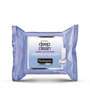 מגבונים להסרת איפור ניוטרוג'ינה דיפ קלין | Neutrogena Deep Clean Makeup Remover Wipes