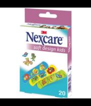 פלסטרים לילדים בדמויות והדפסים NEXACRE נקסר NEXCARE SOFT DESIGN KIDS