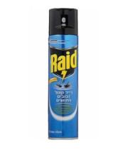 """קוטל זבובים ויתושים 300 מ""""ל RAID"""