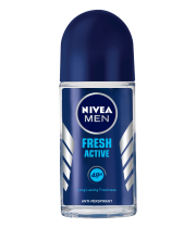 דאודורנט רול און לגבר Fresh Active Roll On Deodorant Nivea ניוואה