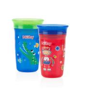 כוס הפלא 360 מעלות לגימות קלות מכל צד 12+ חודשים נובי | NUBY 360