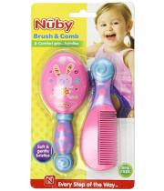 מברשת ומסרק מעוצבים לתינוק נובי NUBY