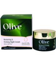 אוליב קרם לילה למיצוק ושיקום העור OLIVE Restoring & Firming Night Cream