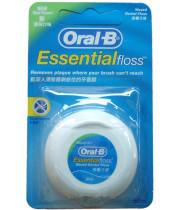 חוט דנטלי אסנשיאל פלוס עם שעווה אוראל בי Oral B Essential Floss Waxed