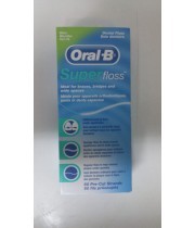 חוט דנטלי סופר פלוס אוראל בי Oral B SUPER FLOSS MINT