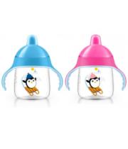 אוונט כוס מעבר ללא נזילות My Penguin Sippy Cup +12