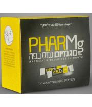 מגנזיום נמס בפה - שקיקים בטעם לימון PHARMg