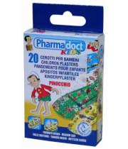 פלסטר מודפס פינוקיו לילדים 20 יחידות PHARMADOCT