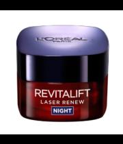 קרם לילה | L'Oreal Revitalift Laser Night Cream לוריאל רויטליפט לייזר