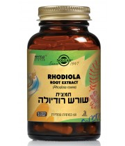 תמצית שורש רודיולה SOLGAR Rhodiola Root Extract סולגאר