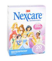 פלסטרים לילדים וילדות נסיכות דיסני נקסקר NEXCARE SENSETIVE BARBIE
