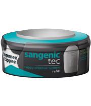 Tommee Tippee טומי טיפי קסטת שקיות לפח חיתולים סאנג'ניק Sangenic Compatible Cassette