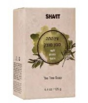 עץ התה סבון מוצק טבעי לגוף ולפנים - 125 גרם שביט