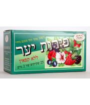 תה פירות יער ללא קפאין מלווה
