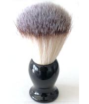 TOBY SVIZZERA מברשת גילוח קלאסית סינטטית צבע שחור