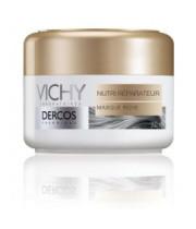 מסכת הזנה לשיער יבש ופגום נוטרי ריפר Vichy Dercos Nutri Reparative Rich Mask וישי