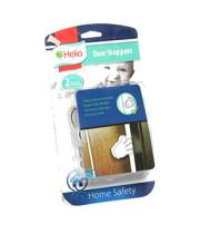 Helio מעצור לדלת בצורת כף יד 2 יחידות