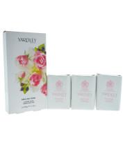 ירדלי לונדון שלישיית סבונים לאישה בניחוח ורד אנגלי | YARDLEY ENGLISH ROSE SOAP