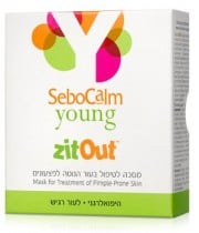 ZitOut זיט אאוט לטיפול בפצעונים SeboCalm Young סבוקלם יאנג