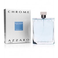 "AZZARO CHROME E.D.T בושם לגבר אזארו כרום 100 מ""ל"