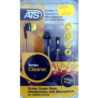 ATS אוזניות SUPER BASS XCLEAR I31