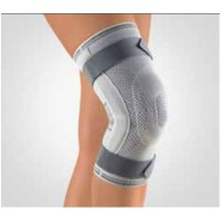 Stabilo Knee Support with Articulated Joint | מגן ברך עם טבעת סיליקון וציר | בורט