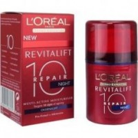 לוריאל רויטליפט טוטאל ריפייר 10 קרם לילה | L'Oreal Revitalift Total Repair 10 Night Cream