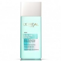 סאבליים פרש מי פנים Sublime Fresh Purifying toner L'Oreal לוריאל