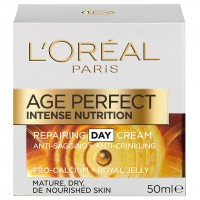 קרם הזנה משקם ליום | L'Oreal Intense Nutrition Repairing Day Cream Royal Gelly לוריאל דרמו אייג' פרפקט