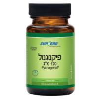 "סופהרב פיקנוגנול 120 מ""ג 30 כמוסות 