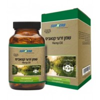 סופהרב שמן זרעי קנאביס כמוסות SUPHERB HEMP OIL